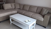 Used Beige Sectional Home Centre Almost Brand New!! in Dubai, UAE