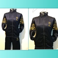 Used Beutiful dark blue training suit for her in Dubai, UAE