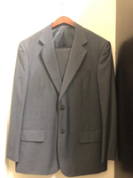 Used Balmain suit plus shirt Azzaro preloved  in Dubai, UAE