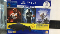 Used sony ps4 500 gb with 3 games  in Dubai, UAE