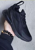 Used NIKE AIRMAX FULL BLACK for men 40 to 45 in Dubai, UAE