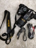 Used NIKON DSLR D5300 With tripod in Dubai, UAE