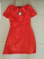 Used ELISABETTA FRANCHI Jacquard dress 42ITA in Dubai, UAE