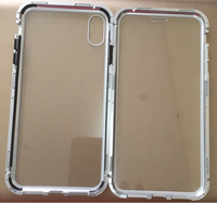 Used double sided glass magnetic IPhone X in Dubai, UAE