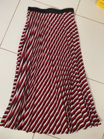 Used Stradivarius striped pleated skirt  in Dubai, UAE