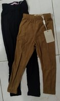 Used Kids leggings beige & black color in Dubai, UAE
