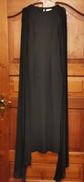 Used Black gown with cape in Dubai, UAE