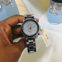 Used Elegant watch for her silver *New in Dubai, UAE
