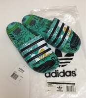 Used Original Adidas Adilette slides size 41 in Dubai, UAE