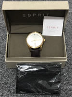 Used Brand new Esprit watch (brown) for men in Dubai, UAE