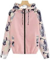 Used New pink camoflage ladies rain jacket in Dubai, UAE