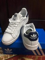 Used Adidas stan Smith white size 43 in Dubai, UAE