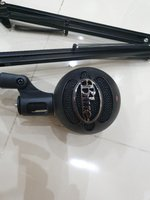 Used Blue snowball Microphone + Stand in Dubai, UAE