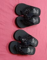 Used Sandals 2 pairs, 37 size ! in Dubai, UAE