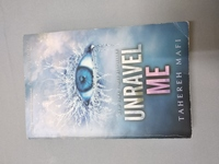 Used Unravel me and ignite me paper back in Dubai, UAE