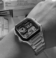 CASIO Steel illuminator 》Original Watch