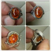 Used Authentic Old Silver Ring with Kahraman in Dubai, UAE