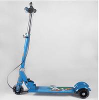 Used Foldable Scooter - Blue  in Dubai, UAE