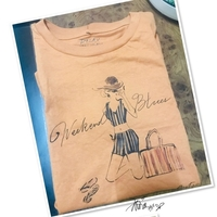 Used Tee shirt cotton /Small for Her💙 in Dubai, UAE