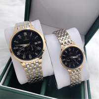 Used OMAGA COUPLES WATCHES WITH ORGINAL BOX in Dubai, UAE