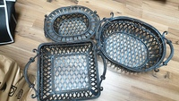 Used 3 metal baskets🎁crazy deal🎁 in Dubai, UAE