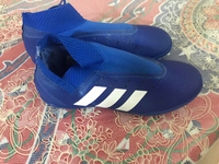 Used Adidas Messi shoes size 40 3/4 in Dubai, UAE