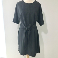 Pint Striped Kimono Sleeve Dress SMALL
