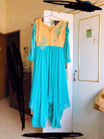 Used New Indian dress wth embroidery read👗👇 in Dubai, UAE
