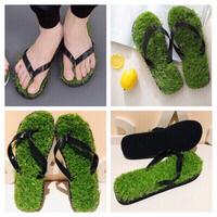 Used Grass flip flops size 42/43 2 pairs 💥 in Dubai, UAE