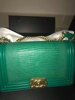 Used Chanel bag in lizard skin  in Dubai, UAE