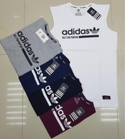Used Adidas sleeveless 5pcs Large in Dubai, UAE