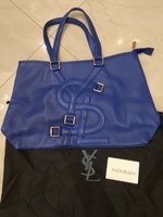 Used YSL blue handbag  in Dubai, UAE