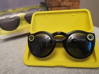 Used Snapchat glasses clean one time use in Dubai, UAE