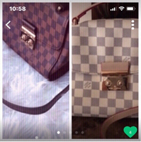 Used LV sling new never used free 1 preloved  in Dubai, UAE