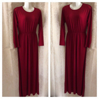 Used Long dress red M in Dubai, UAE