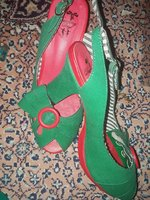 Used Lovly Green Small heel... in Dubai, UAE