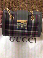 Used Gray Gucci handbag 👜 -first class copy  in Dubai, UAE