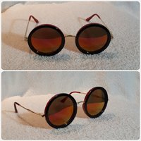 FASHIONISTAS red brown sungglass..