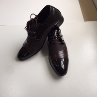 Men's lace-up shoes (43) Brown