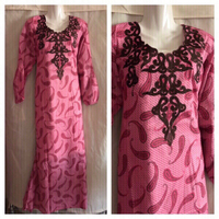 Used Ladies dress pink M in Dubai, UAE