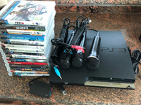 Used PS3 with 15 games in Dubai, UAE