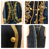Used Costume men size XL black/gold in Dubai, UAE