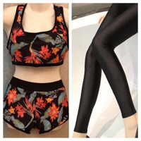 Used Swimsuit & black leggings size S in Dubai, UAE