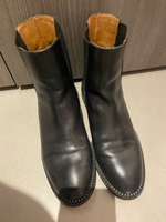 Used Brand NEW - Leather Black womens boots  in Dubai, UAE