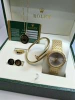 ROLEX LADIES WATCH/JEWELRY SET