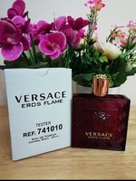Used Versace Eros flame for men in Dubai, UAE