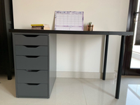 Used Ikea Alex desk in Dubai, UAE