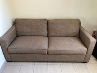 Used Crate & barrel sofa bed/couch in Dubai, UAE