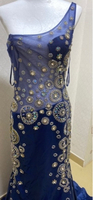 Used evening dress tulle silk rhinestones  in Dubai, UAE