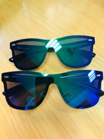 Used 2 pcs Fashion  sunglasses unisex  ❤️ in Dubai, UAE